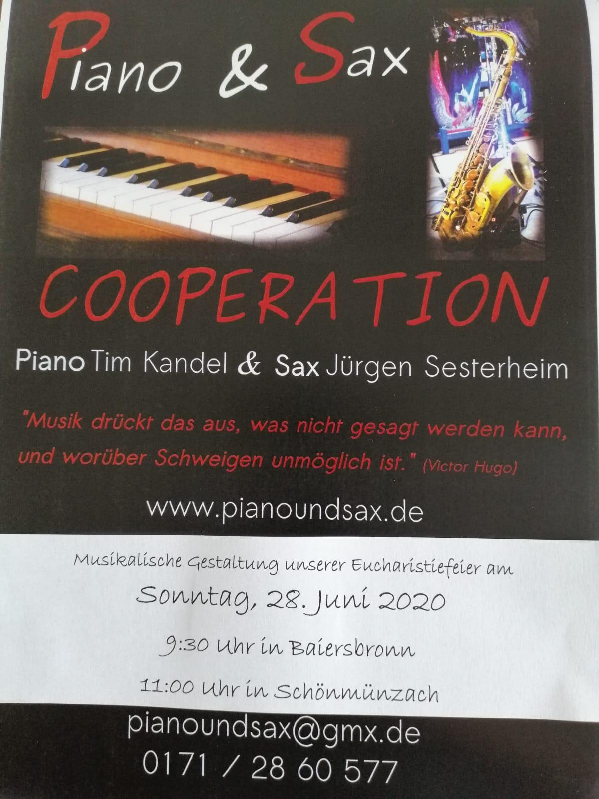 You are currently viewing Orgel und Saxophon im Gottesdienst